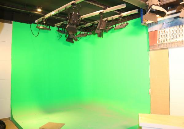 校园电视台绿箱