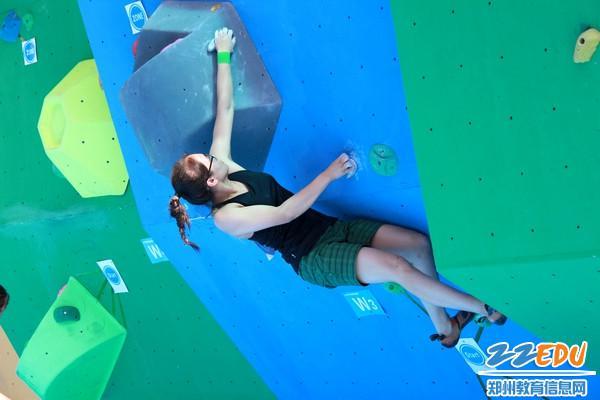 全国第二届青运会河南省攀岩选拔